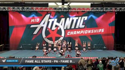 FAME All Stars - PA - Fame BlacXout [2020 L4 Senior Open Day 1] 2020 Mid-Atlantic Championships