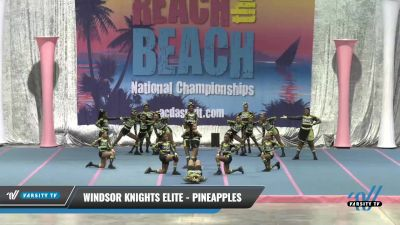 Windsor Knights Elite - PINEAPPLES [2021 L2.1 Performance Recreation - 18 and Younger (NON)] 2021 Reach the Beach Daytona National