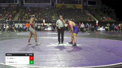 285 lbs Prelims - Carter Isley, Northern Iowa vs Thomas Helton, SIUE