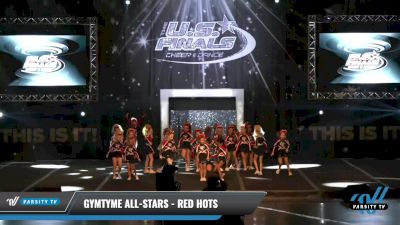 GymTyme All-Stars - Red Hots [2021 L1.1 Mini - PREP Day 1] 2021 The U.S. Finals: Louisville