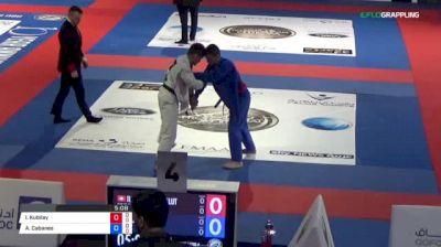 Ilke Kubilay Bulut vs Alex Cabanes 2018 Abu Dhabi World Professional Jiu-Jitsu Championship