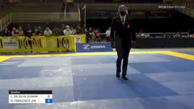LEONARDO DA SILVA GUIMARAES vs ROBERTO FRANCISCO JIMENEZ 2020 Pan Jiu-Jitsu IBJJF Championship
