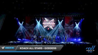Koach All Stars - Goddess [2020 L1 Junior - Medium Day 2] 2020 JAMfest Cheer Super Nationals