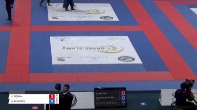 JOAO SOUZA vs ALEXSANDRO OLIVEIRA Abu Dhabi Grand Slam Rio de Janeiro