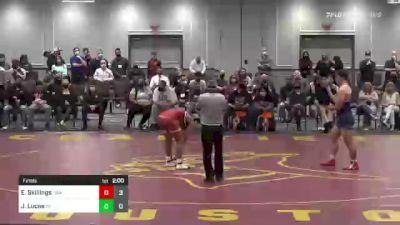 220 lbs Final - Emmanuel Skillings, USA vs Jake Lucas, PA
