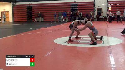 149 lbs Consolation - Kollin Myers, Lock Haven vs Matt Grippi, NC State