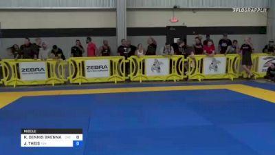 KENNETH DENNIS BRENNAN vs JOEL THEIS 2021 Pan IBJJF Jiu-Jitsu No-Gi Championship