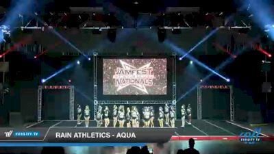 Rain Athletics - Aqua [2021 L6 Senior - Small Day 2] 2021 JAMfest Cheer Super Nationals