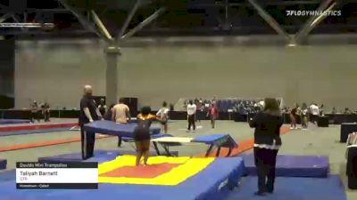 Taliyah Barnett - Double Mini Trampoline, CTR - 2021 USA Gymnastics Championships