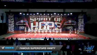Famous Superstars Vanity [2021 Senior Coed 5 D2 Day 2] 2021 Universal Spirit: Spirit of Hope National Championship