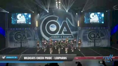 Wildcats Cheer Pride - Leopards [2021 L2 Junior - Small Day 1] 2021 COA: Midwest National Championship