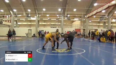 Quarterfinal - Deonte Wilson, NC State vs Mike Burchell, Appalachian State