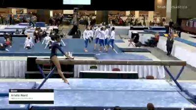 Arielle Ward - Beam, Metroplex Gymnastics - 2021 Metroplex Challenge