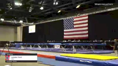 London Hunt - Tumbling, WCC - 2021 USA Gymnastics Championships