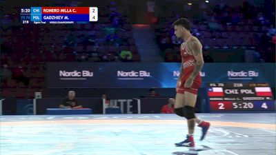 70 kg 1/8 Final - Carlos Romero Millaqueo, Chile vs Magomedmurad Gadzhiev, Poland