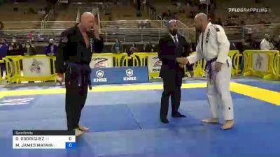 DAVID RODRIGUEZ vs MARCUS JAMES MATAYA 2020 World Master IBJJF Jiu-Jitsu Championship