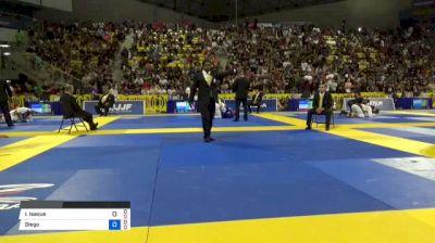 Isaque Braz vs Diego Ramalho 2018 World IBJJF Jiu-Jitsu Championship