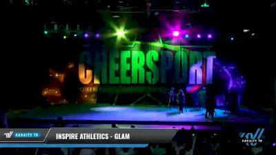 Inspire Athletics - Glam [2021 L3 Junior - Medium - A Day 2] 2021 CHEERSPORT National Cheerleading Championship