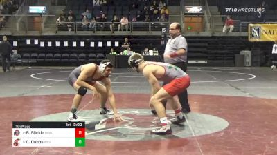 157 lbs 7th Place - Benjamin Blickle, The Ohio State University WC vs Cameron Dubos, Washington State University