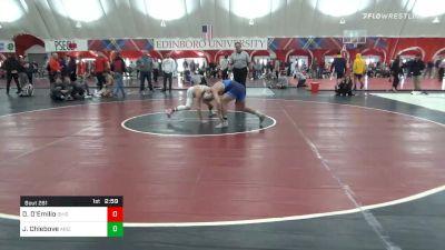 141 lbs Quarterfinal - Dylan D'Emilio, Ohio State vs Julian Chlebove, Arizona State