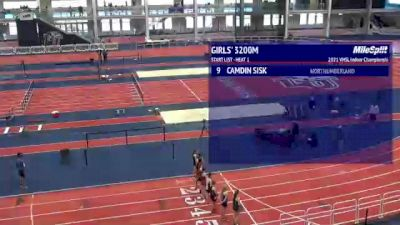 High School Girls' 3200m, Finals 1