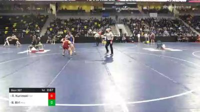 165 lbs Quarterfinal - Ryker Kurimski, Coe College vs Bradan Birt, Millikin University