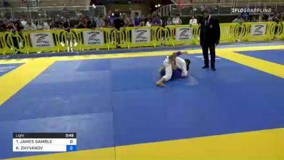 TOBY JAMES GAMBLE vs KOSTIANTYN ZHYVANOV 2021 Pan Kids Jiu-Jitsu IBJJF Championship