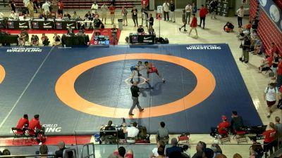 61 kg 3rd Place - Jevon Parrish, Nebraska Wrestling Training Center vs Jarrett Trombley, Wolfpack Wrestling Club