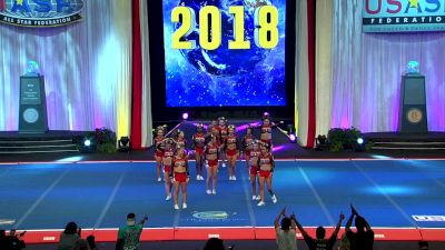 Valley Elite All Stars - Big Red [2018 Senior X-Small Coed Finals] The Cheerleading Worlds