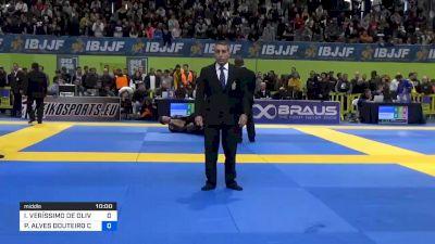 IGOR VERÍSSIMO DE OLIVEIRA CHAVE vs PEDRO ALVES DOUTEIRO CRANFIELD 2020 European Jiu-Jitsu IBJJF Championship