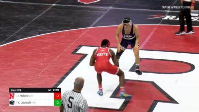 165 lbs Semifinal - Isaiah White, Nebraska vs Vincenzo Joseph, Penn State