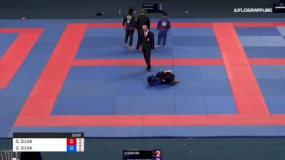 STEFANI SILVA vs SHAMMA SILVA 2018 Abu Dhabi Grand Slam Rio De Janeiro