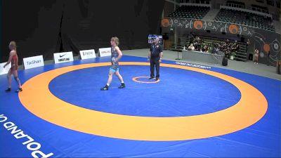 57kg Repechage - Helen Maroulis, USA vs Tetyana Kit, UKR
