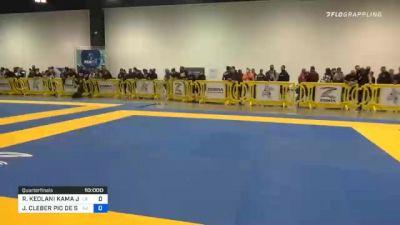 RENNICK KEOLANI KAMA JR. vs JUAN CLEBER PIO DE SOUZA 2020 IBJJF Pan No-Gi Championship