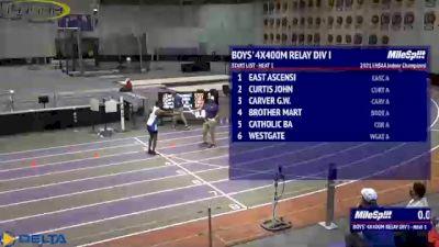 High School Boys' 4x400m Relay Division 1, Finals 1