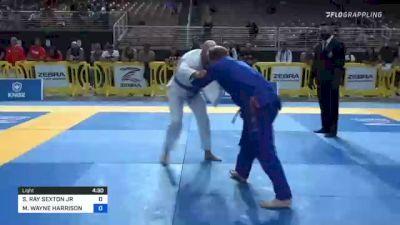 SIDNEY RAY SEXTON JR vs MIKE WAYNE HARRISON 2021 Pan Jiu-Jitsu IBJJF Championship
