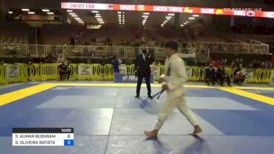 SURAJ KUMAR BUDHRAM vs DIEGO OLIVEIRA BATISTA 2021 Pan Jiu-Jitsu IBJJF Championship