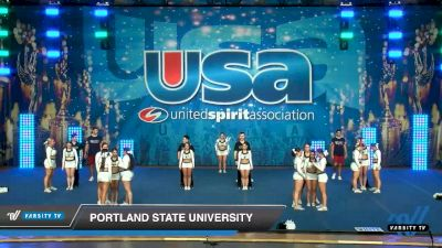 Portland State University [2020 Small Co-Ed Show Cheer 4-Year College -- Division I Day 2] 2020 USA Collegiate Championships