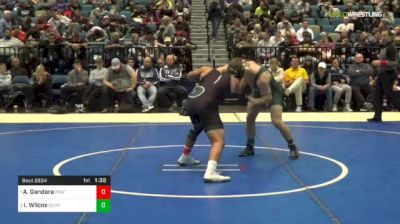 152 lbs Final - Aaron Gandara, Poway vs Isaac Wilcox, Olympus-B