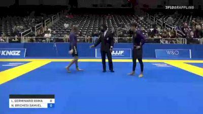 LUCA GERMINARIO RAMACI vs NICHOLAS BRICHESI SAMVELOVI OGAN 2021 World IBJJF Jiu-Jitsu No-Gi Championship