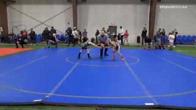 55 lbs 5th Place - Gavin Moscatello, Iron Horse vs Luke McHale, Upper Township