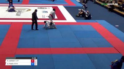Dj Jackson vs Alan Fidelis 2018 Abu Dhabi Grand Slam Tokyo