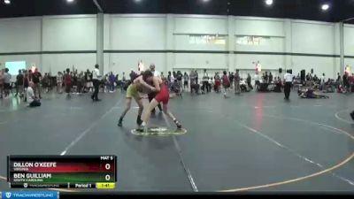 125 lbs Cons. Semi - Ben Guilliam, South Carolina vs Dillon O`Keefe, Virginia