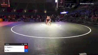 100 lbs 3rd Place - Cole Rogers, Montana vs Andrew Fox, Utah
