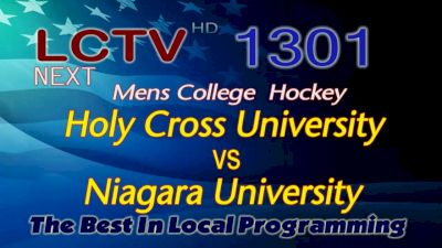 Full Replay - Holy Cross vs Niagara | Atlantic Hockey