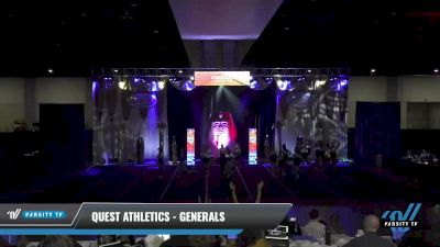 Quest Athletics - Generals [2021 L3 Junior - D2 - Small Day 1] 2021 Queen of the Nile: Richmond