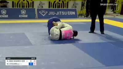 NATHALIE WAN SOARES VERAS RIBEIR vs MARGOT CICCARELLI 2021 Pan Jiu-Jitsu IBJJF Championship