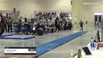 Audrey Snyder - Vault, First State #127 - 2021 USA Gymnastics Development Program National Championships