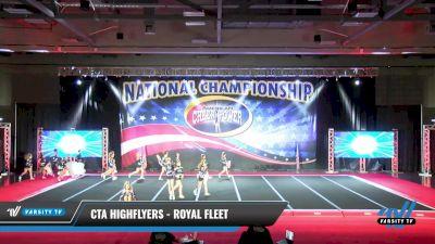CTA Highflyers - Royal Fleet [2021 L3 Junior - D2 Day 2] 2021 ACP: Midwest World Bid National Championship
