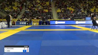 VICTOR SILVERIO SANTOS vs YGOR DOS SANTOS RODRIGUES 2019 World Jiu-Jitsu IBJJF Championship